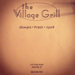 The Village Grill in Abbeville