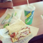 Subway Sandwiches in Hesston
