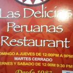 Las Delicicias Peruanas Restaurant in Corona