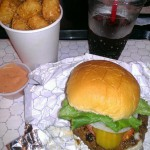 Stuffed Burger in Athens