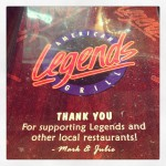 Legends American Grill in Des Moines