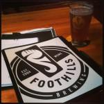 Foothills Brewing in Winston Salem, NC