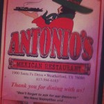 Antonio's Mexican Restaurant in Weatherford