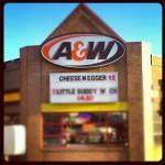 A & W Restaurant in Calgary