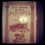 Acropol Inn Restaurant in Clearwater