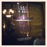 The Rieger Hotel Grill and Exchange in Kansas City, MO