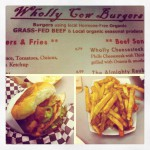 Wholly Cow Burgers in Austin