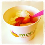 Matcha Frozen Yogurt in Columbus