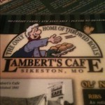 Lambert's Cafe - Restaurant in Sikeston