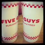 Five Guys in Fresno