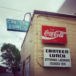 Canteen Lunch in the Alley in Ottumwa
