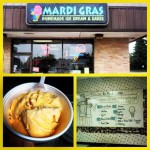 Mardi Gras Homemade Ice Cream in Columbus