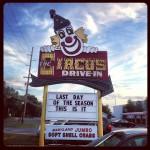 Circus Drive-In in Belmar