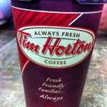 Tim Horton's in Cochrane, AB