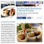 Gaysha New World Sushi in Wilton Manors