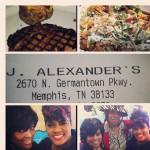 J.Alexander's in Memphis