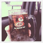 A & W Drive-In in Ortonville