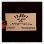 Tribeca Tap House in New York