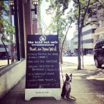 the hide out cafe in New Westminster, BC