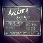 Academy Tavern in Cleveland, OH