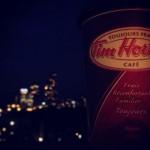 Tim Horton's in Toronto
