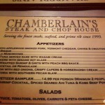 Chamberlain's Steakhouse in Dallas, TX