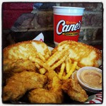 Raising Canes in Columbus