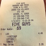 Five Guys Burger and Fries in Estero