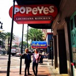 Popeye's Chicken in New Orleans
