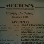 Morton's The Steakhouse in San Antonio, TX