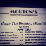 Morton's The Steakhouse in Cleveland, OH