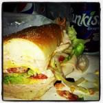 Louie K's Club Sandwich in Sunrise