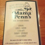 Mama Penn's-family Dining in Anderson