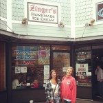 Zinger's Homemade Ice Cream in Seaside