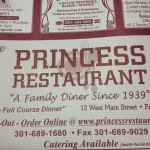 Princess Restaurant in Frostburg, MD