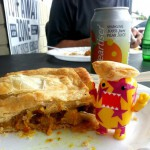Meal in A Pie in Fort Lauderdale