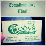 Cody's Irish Pub & Grille in Essex Junction