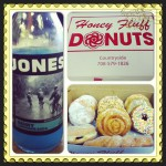 Honey Fluff Donuts in Countryside