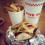 Five Guys Burgers and Fries in Orange