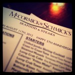 McCormick and Schmick's Seafood in Charlotte, NC