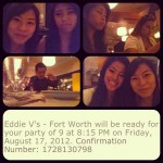 Eddie V's in Fort Worth, TX