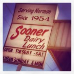 Sooner Dairy Lunch in Norman