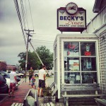 Becky's Diner in Portland, ME
