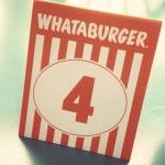 Whataburger in Houston