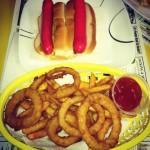 Simones' Hot Dog Stand in Lewiston