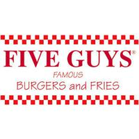 Five Guys Burgers and Fries in Burlington