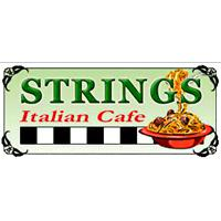 Strings Italian Cafe in Turlock