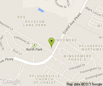 Map of Taste-Ethiopia Restaurant and Cafe in Pflugerville