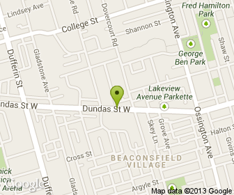 Map of Amazonas Restaurant in Toronto